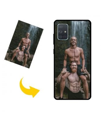 Customized Samsung Galaxy A71 5G Phone Case with Your Own Photos, Texts, Design, etc.
