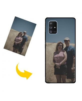 Customized Samsung Galaxy A71 5G UW Phone Case with Your Own Design, Photos, Texts, etc.