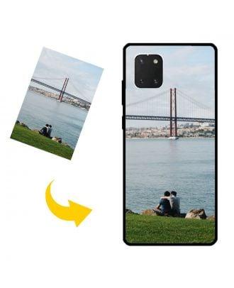 Mukautettu Samsung Galaxy A81 Puhelinlaukku omilla valokuvillasi, teksteillä, suunnittelulla jne.