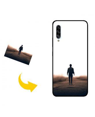 Mittatilaustyönä Samsung Galaxy A90 5G Puhelinlaukku, jossa oma mallisi, valokuvat, tekstit jne.