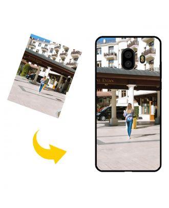 Kişiselleştirilmiş Samsung Galaxy C10 Kendi Fotoğraf, Metin, Tasarım vb.Ile Telefon Kılıfı.