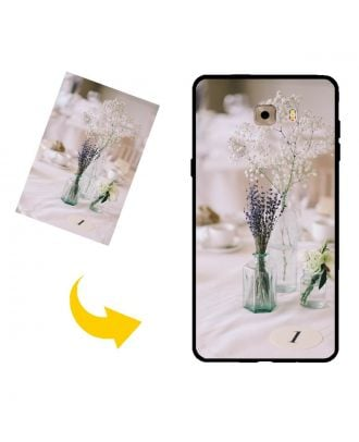 Tilpasset Samsung Galaxy C9 Telefonveske med ditt eget design, bilder, tekster osv.