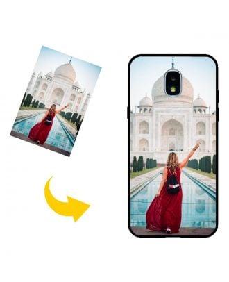 Personalizado Samsung Galaxy J3 2018 Caja del teléfono con su propio diseño, fotos, textos, etc.