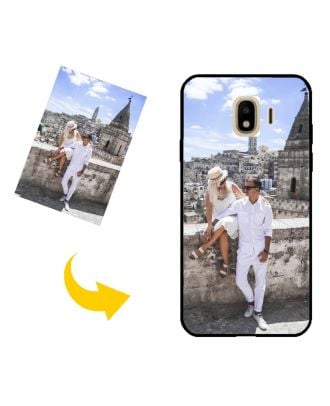 Customized Samsung Galaxy J4 Phone Case with Your Own Design, Photos, Texts, etc.