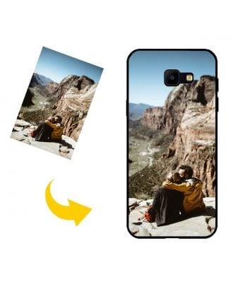 Speciaal gemaakt Samsung Galaxy J4 Core Telefoonhoesje met uw foto's, teksten, ontwerp, etc.