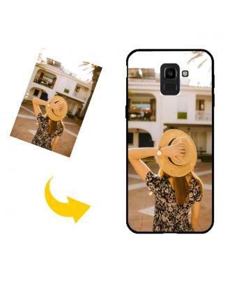görenek Samsung Galaxy J6 / J6 2018 Kendi Fotoğraf, Metin, Tasarım vb.Ile Telefon Kılıfı.