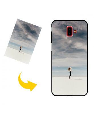 Räätälöidyt Samsung Galaxy J6 Plus Puhelinlaukku, jossa oma mallisi, valokuvat, tekstit jne.