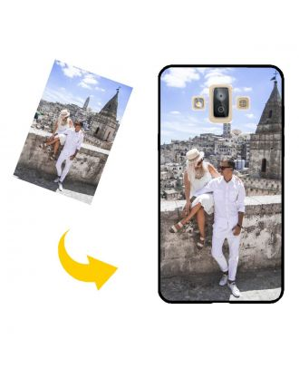 Räätälöidyt Samsung Galaxy J7 Duo Puhelinlaukku, jossa oma mallisi, valokuvat, tekstit jne.