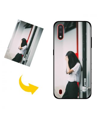 Custom Samsung Galaxy M01 Phone Case with Your Own Photos, Texts, Design, etc.