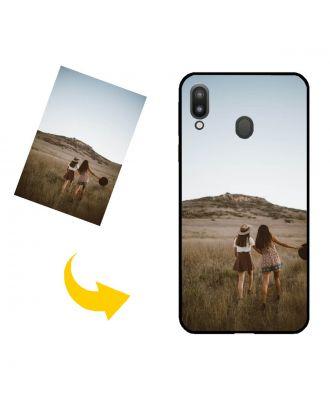 Personalizado Samsung Galaxy M20 Caja del teléfono con su propio diseño, fotos, textos, etc.