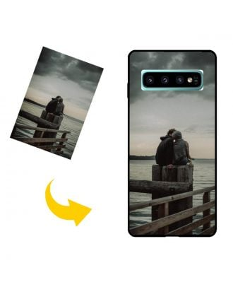 Mukautettu Samsung Galaxy S10 5G Puhelinlaukku omilla valokuvillasi, teksteillä, suunnittelulla jne.