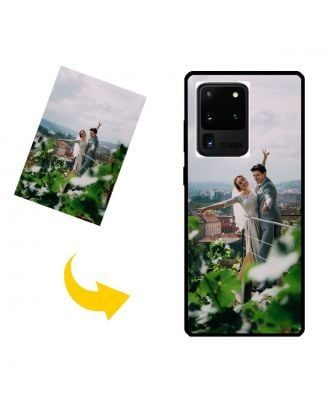 Custom Samsung Galaxy S20 Ultra Phone Case with Your Own Design, Photos, Texts, etc.