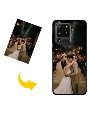 Personalized Samsung Galaxy S20 Ultra 5G Phone Case with Your Photos, Texts, Design, etc.