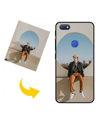 Personlig Alcatel 1v (2019) telefonetui med dine egne fotos, tekster, design osv.