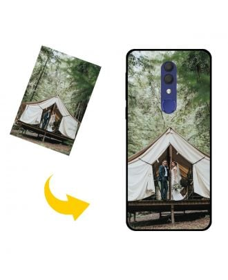 Personalized Alcatel 1x (2019) Phone Case with Your Own Photos, Texts, Design, etc.