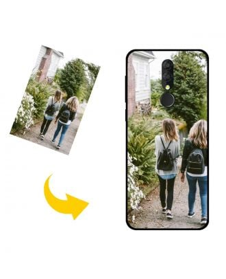 Customized Alcatel 3 (2019) Phone Case with Your Own Photos, Texts, Design, etc.