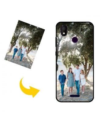 Skræddersyet Allview P10 Max telefon taske med dine egne fotos, tekster, design osv.
