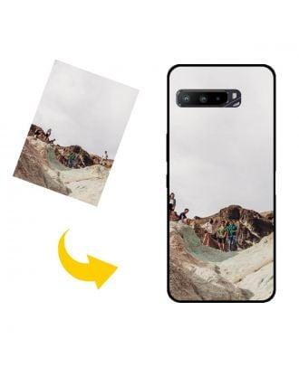 Op maat gemaakt ASUS ROG Phone 3 Strix telefoonhoesje met uw foto's, teksten, ontwerp, etc.
