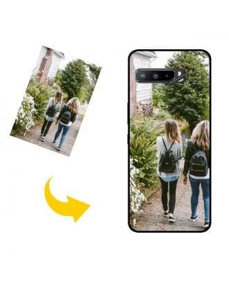 Räätälöity ASUS ROG Phone 3 ZS661KS puhelinkotelo omalla suunnittelulla, valokuvilla, teksteillä jne.