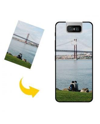 Tilpasset ASUS Zenfone 6 ZS630KL telefon etui med dit eget design, fotos, tekster osv.