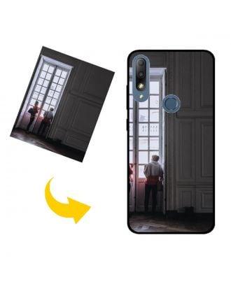 Tilpasset ASUS Zenfone Max Plus (M2) ZB634KL telefonveske med egne bilder, tekster, design osv.