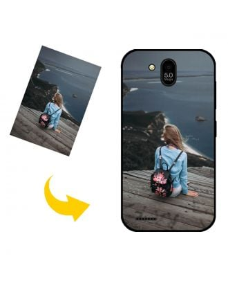 Customized BLU Advance L5 Phone Case with Your Own Design, Photos, Texts, etc.