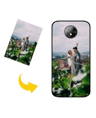 Mittatilaustyönä tehty BLU C5 Plus puhelinkotelo, jossa on oma muotoilusi, valokuvasi, tekstisi jne.