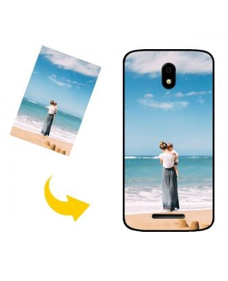 Custom Made BLU C5L Phone Case with Your Own Photos, Texts, Design, etc.