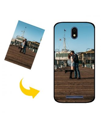 Custom Made BLU C6L Phone Case with Your Own Design, Photos, Texts, etc.