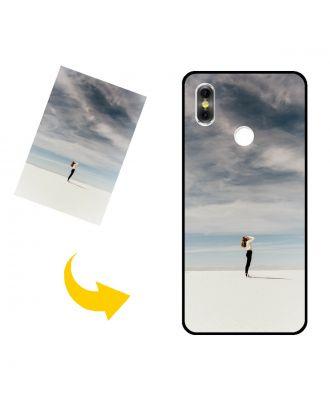 Tilpasset BLU Vivo One Plus (2019) telefonveske med bilder, tekster, design osv.