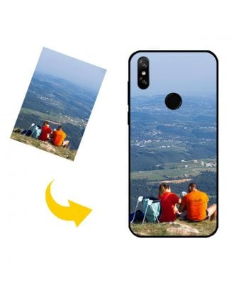 Carcasa de teléfono Doogee Y8 personalizada con sus propias fotos, textos, diseño, etc.