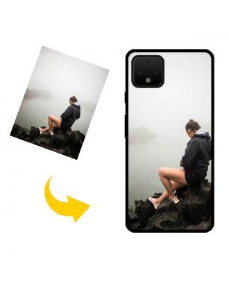 Skræddersyet Google Pixel 4 telefonkasse med dine fotos, tekster, design osv.
