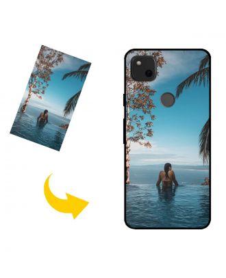 Skræddersyet Google Pixel 4a telefonkasse med dine fotos, tekster, design osv.