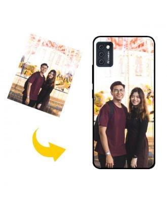 Skræddersyet Hafury M20 telefon taske med dine egne fotos, tekster, design osv.
