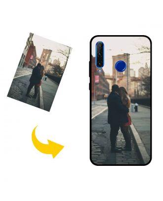 Gepersonaliseerd HONOR 20 lite telefoonhoesje met uw foto's, teksten, ontwerp, etc.