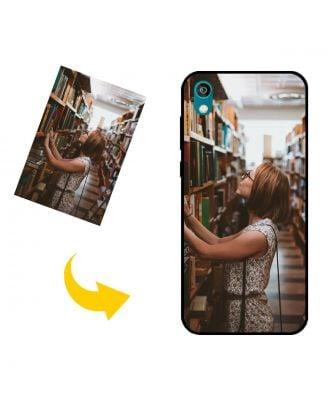 Na mieru vyrobené HONOR 8S 2020 puzdro na telefón s vlastnými fotografiami, textami, dizajnom atď.