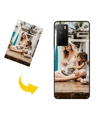 Carcasa de teléfono HONOR Play4 personalizada con su propio diseño, fotos, textos, etc.