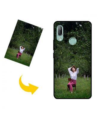 Aangepast HTC U19e telefoonhoesje met uw eigen ontwerp, foto's, teksten, etc.