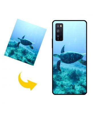 Mukautettu HUAWEI Enjoy Z 5G puhelinkotelo, jossa on omat valokuvat, tekstit, suunnittelu jne.