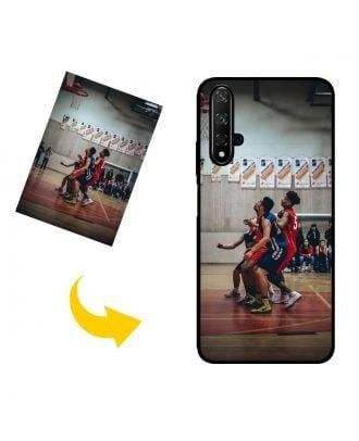 Prispôsobené HUAWEI nova 5T puzdro na telefón s vlastným dizajnom, fotografiami, textami atď.