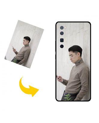 Gepersonaliseerd HUAWEI nova 7 Pro 5G telefoonhoesje met uw foto's, teksten, ontwerp, etc.