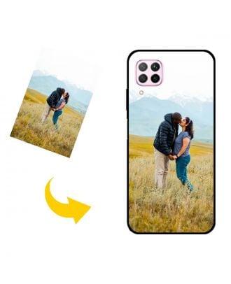 Gepersonaliseerd HUAWEI nova 7i telefoonhoesje met je eigen foto's, teksten, ontwerp, etc.