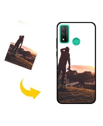 Aangepast HUAWEI P smart 2020 telefoonhoesje met uw foto's, teksten, ontwerp, etc.
