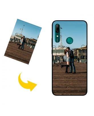 Henkilökohtainen HUAWEI P Smart Z puhelinkotelo, jossa on valokuvia, tekstejä, muotoilua jne.