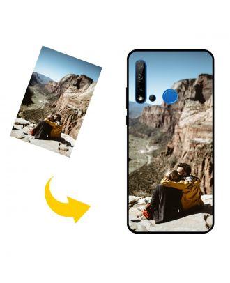 Tilpasset HUAWEI P20 lite (2019) telefonveske med bilder, tekster, design osv.
