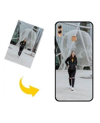 Räätälöity HUAWEI Y Max puhelinkotelo, jossa on omat valokuvat, tekstit, suunnittelu jne.