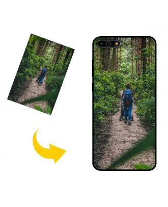 Індивідуальний HUAWEI Y6 (2018) чохол для телефону з вашими фотографіями, текстами, дизайном тощо.