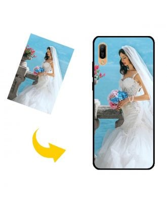 Aangepast HUAWEI Y6 Pro (2019) telefoonhoesje met uw eigen ontwerp, foto's, teksten, etc.