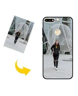 Personalized HUAWEI Y7 (2018) Phone Case with Your Own Design, Photos, Texts, etc.
