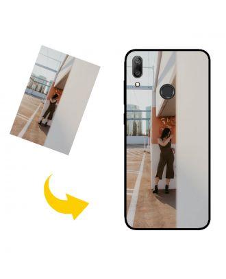 Prispôsobené HUAWEI Y7 (2019) puzdro na telefón s vašimi fotografiami, textami, dizajnom atď.